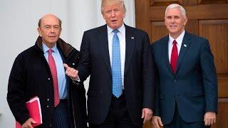 Donald Trump Builds a $6 Billion Cabinet