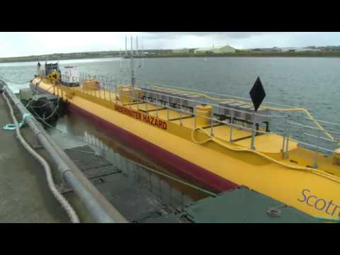 Scotrenewables tidal turbine
