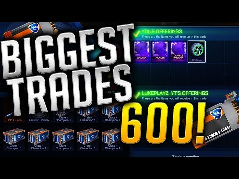 My BIGGEST & BEST Trading Video EVER! | Selling My WHOLE INVENTORY For OVER 600 KEYS!!