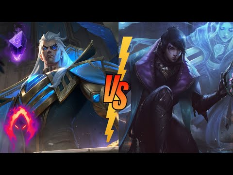 NEW Hextech Swain vs Aphelios full gameplay | league of legends | Anesydora