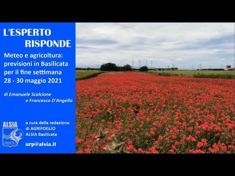 Basilicata, con le piogge dal 28-30 maggio condizi...