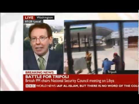 Battle for Tripoli BBC World News 20110822-1214