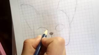 как рисовать французского бульдога