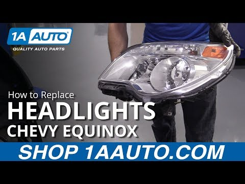 How to Replace Headlights 10-17 Chevy Equinox