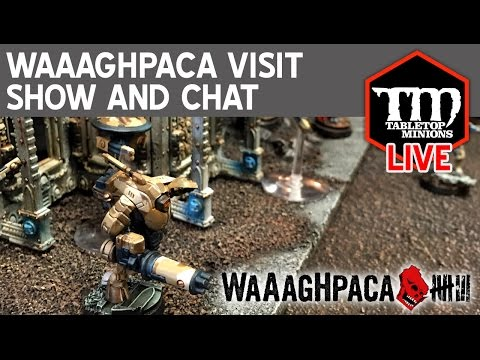 Waaaghpaca Visit Show and Chat LIVE