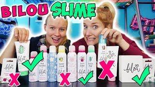 BILOU SLIME CHALLENGE - Wähle nicht das Falsche! Nina & Kathi suchen Beauty Produkte für Schleim aus