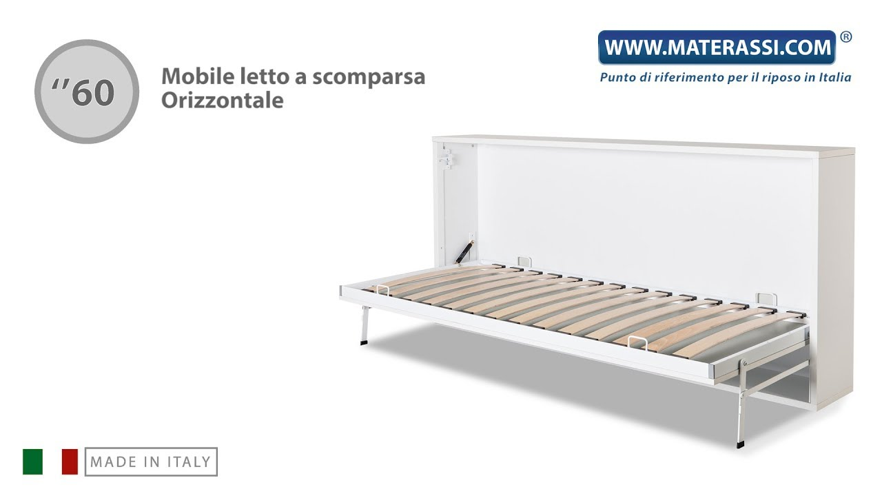 Mobile Letto Ribaltabile.Come Si Monta Un Mobile Letto Orizzontale A Scomparsa Youtube
