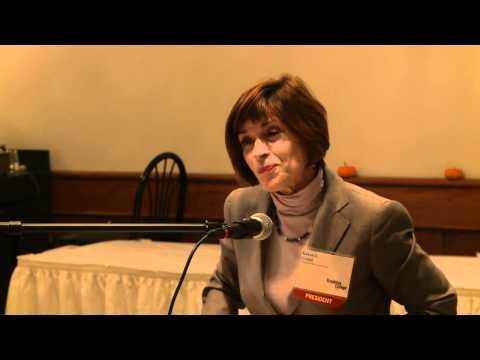 Geri Cohen Stevens and BC President Karen Gould - ...