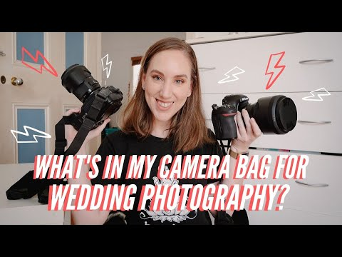 What's In My Camera Bag: Wedding Photography Essentials [2020 Update!]
