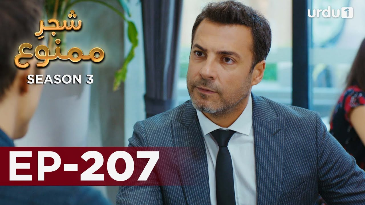 Shajar-e-Mamnu | Episode 207 | Turkish Drama  | Forbidden Fruit | Urdu Dubbing | 24 September 2021