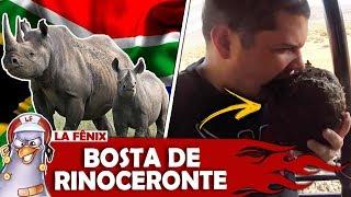 COMENDO BOSTA DE RINOCERONTE NA ÁFRICA DO SUL
