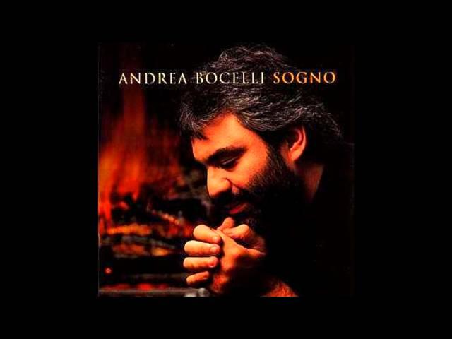Andrea Bocelli Sogno Youtube