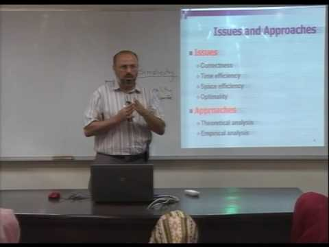 Lecture 3: Fundamentals of the Analysis of  Algorithm Efficiency -1