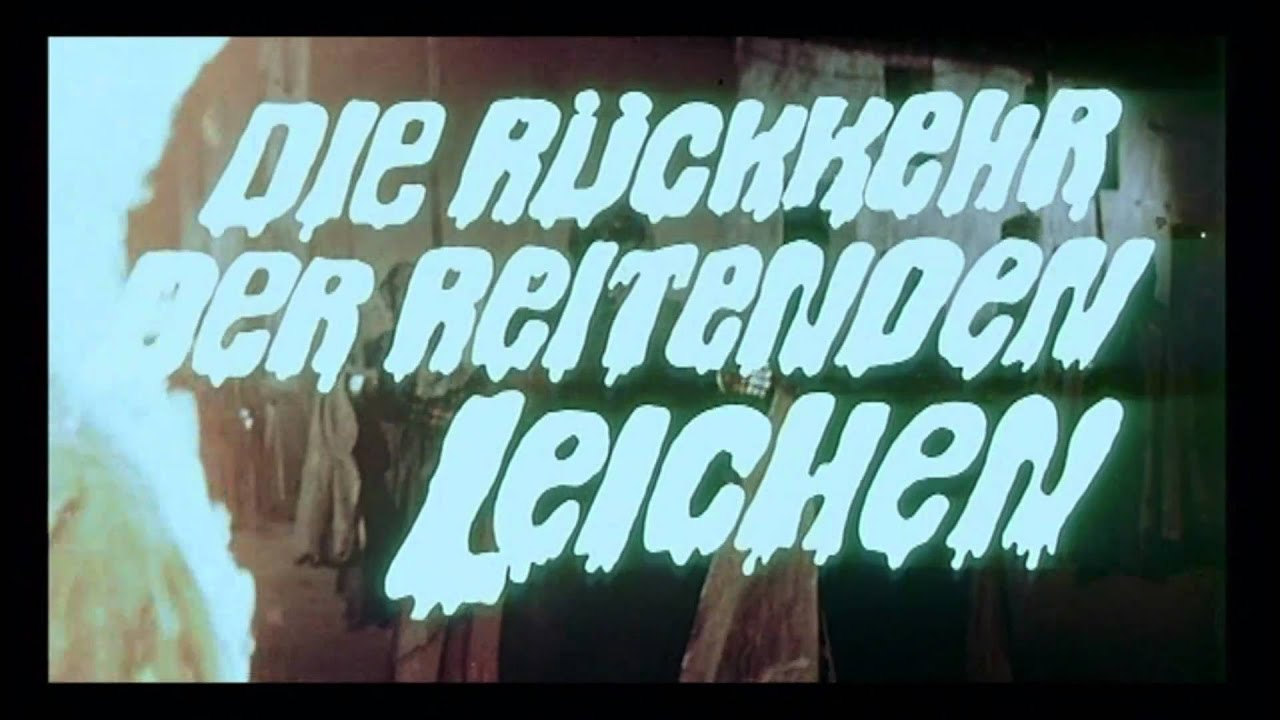 DIE RÜCKKEHR DER REITENDEN LEICHEN (1973) FULL HD TRAILER