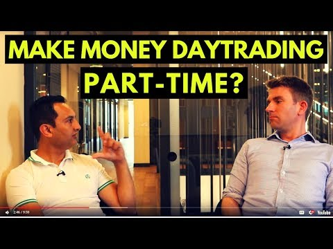 Make Money DayTrading Part-Time ❗❓ (Part 1)