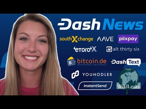 Dash News Recap - Alt36 Cannabis, YouHodler, Bitcoin.de, eToroX, Wikileaks, Litecoin vs Dash & More!