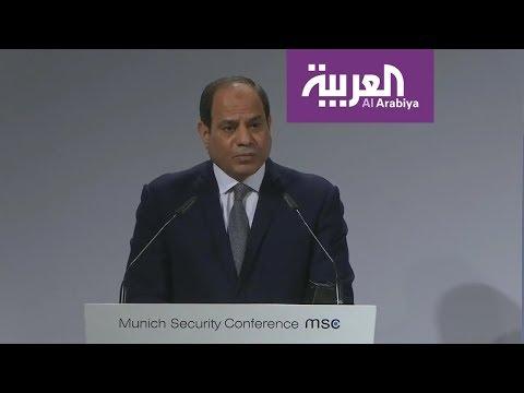 السيسي يدعو للتعاون مع أفريقيا في مجال الأمن  - نشر قبل 2 ساعة