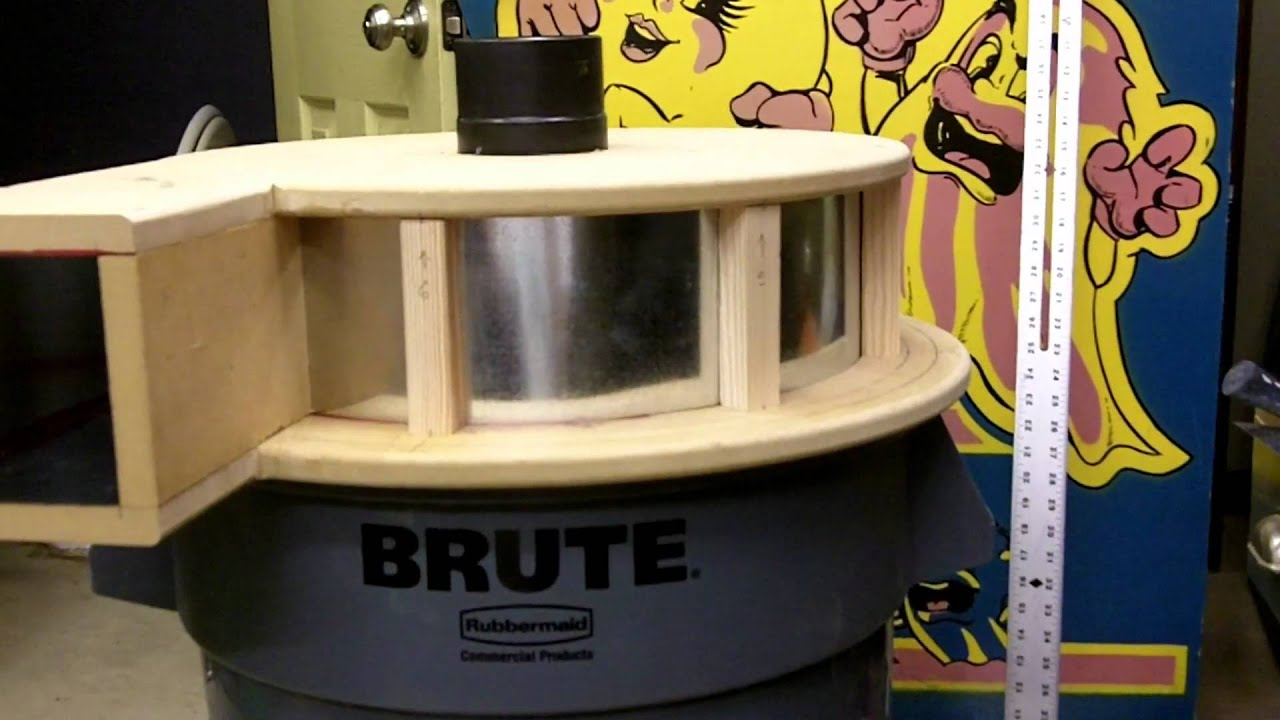 Make A Cyclone Dust Separator The Top Hat Part 1 Of 3 Home