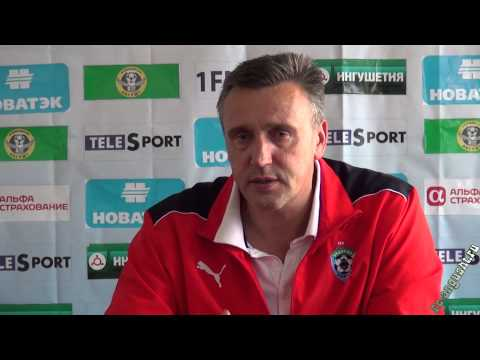 Пресс-конференция после матча 32-го тура Иванаускас Вальдас