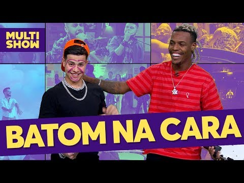 Batom na cara 💄😂  Mc Kekel e Jottapê  TVZ  Música Multishow