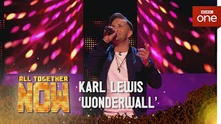 Karl Lewis performs 'Wonderwall' by Oasis in the Sing Off - All Together Now: Episode 2 - BBC One