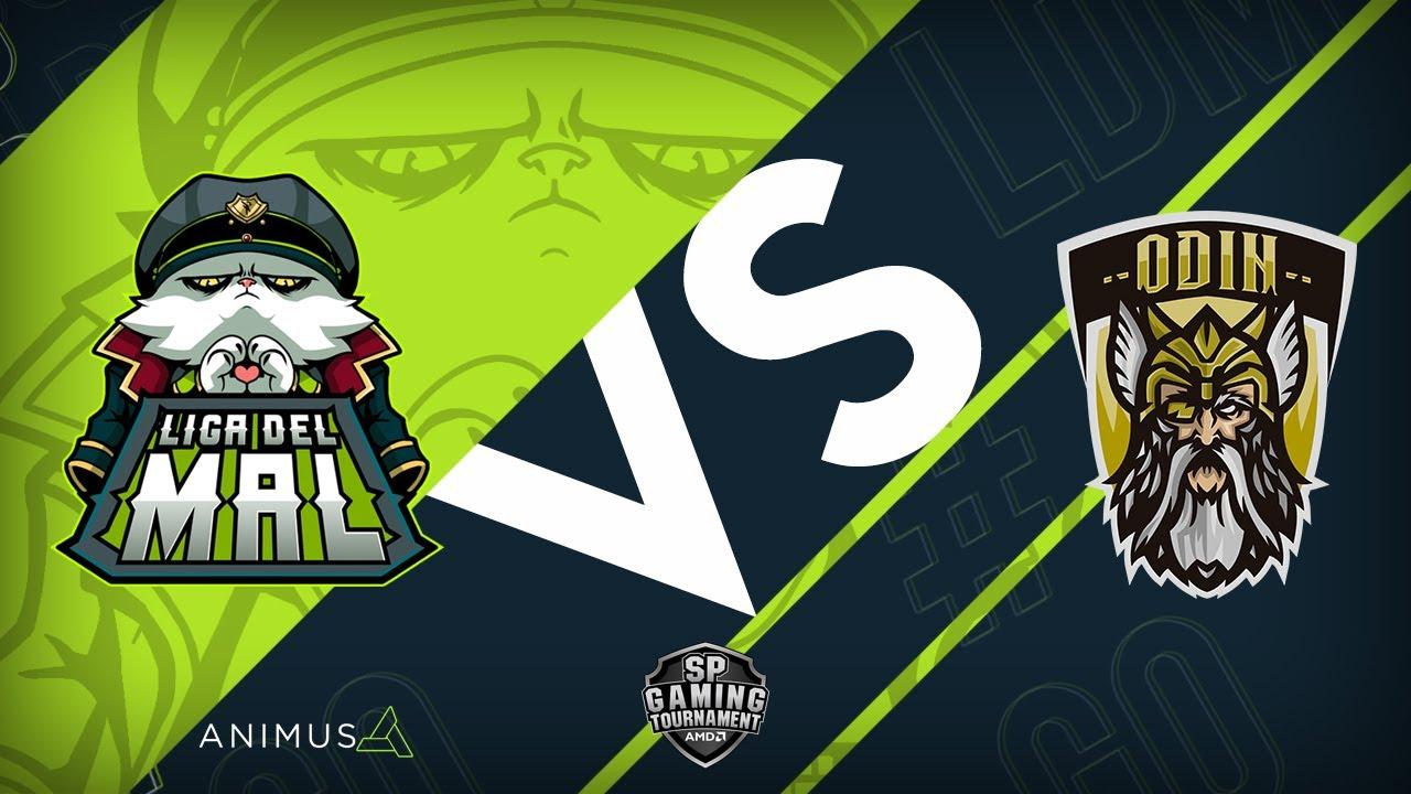 LIGA DEL MAL VS ODIN GAMING   Semana 1 Jornada 1   Liga del Mal