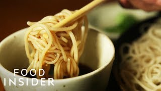New York's Best Soba Noodles Are Made By Hand