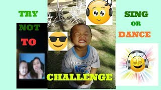 TRY NOT TO SING AND DANCE CHALLENGE WITH klent and Bj#FAIL!!LAUGHTRIP