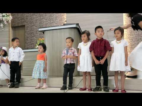 Sekolah Sabat Anak-anak Sabat 13 GMAHK Dieng Malang 25 Maret 2017
