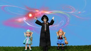 Gambar cover Elsa and Anna toddlers magic and games