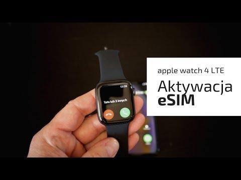 Apple Watch LTE - Aktywacja Karty ESIM Od Orange