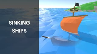 Server Time Travel and Sinking Ships | Unity Multiplayer Game Devlog #19