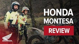 Honda Trials Bike overview with Inch perfect
