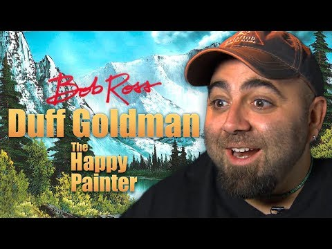 Duff Goldman - Bob Ross: The Happy Painter.