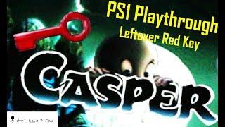 CASPER, PS1: FULL 100% PLAYTHROUGH, PS1 (HQ) - Leftover Red Key