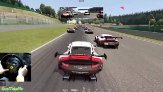 Assetto Corsa - Gameplay ITA - T300 + TH8A - Porsche 911 RSR 2017 - Race SPA