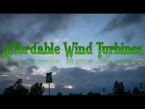 Affordable Wind Turbines