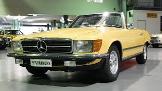 1973 Mercedes-Benz 350SL 'Manual' Convertible - 2020 Shannons Winter Timed Online Auction