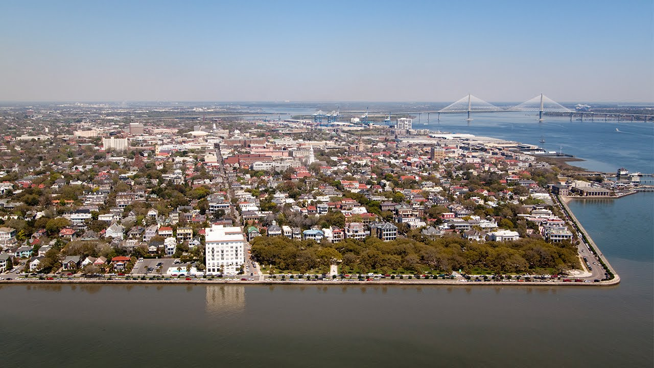 Downtown flyover take a tour charleston sc youtube for How do i get to charleston south carolina