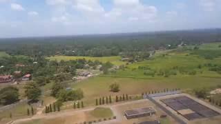 Mihin Lanka flight MJ 130 landing in Colombo Bandaranaike International Airport