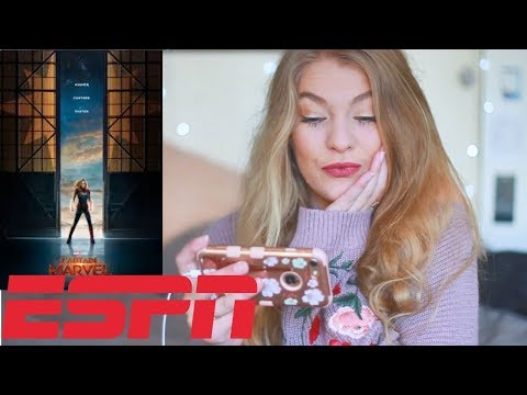 Captain Marvel   Special ESPN Look REACTION