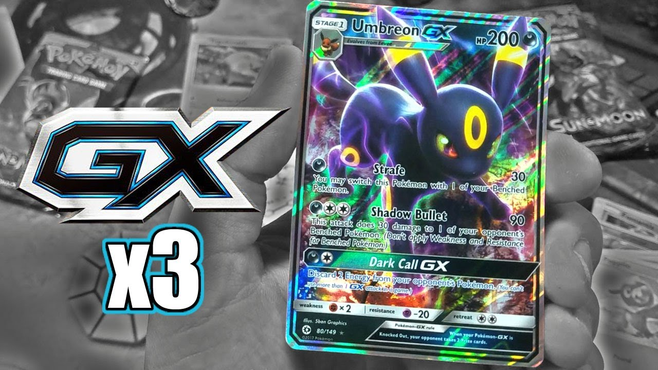 Another Try At Slark Ultra Rare: 3 GX ULTRA RARE PULLS! OPENING 2 POKEMON SUN & MOON 3 PACK