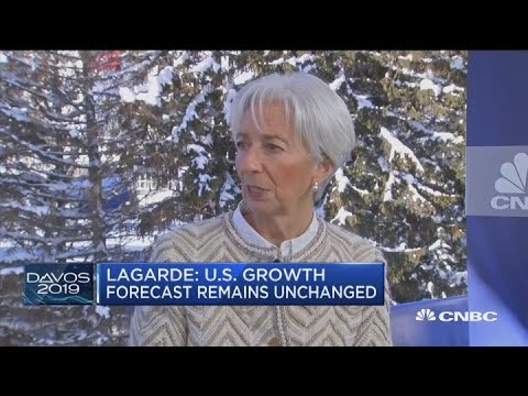 Christine Lagarde: Fed's new policy is 'good news, bad news' - Davos 2019
