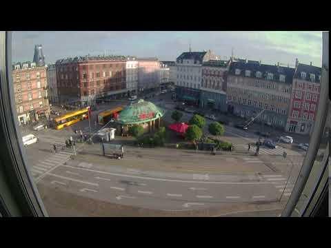 Time lapse at Trianglen Square Copenhagen