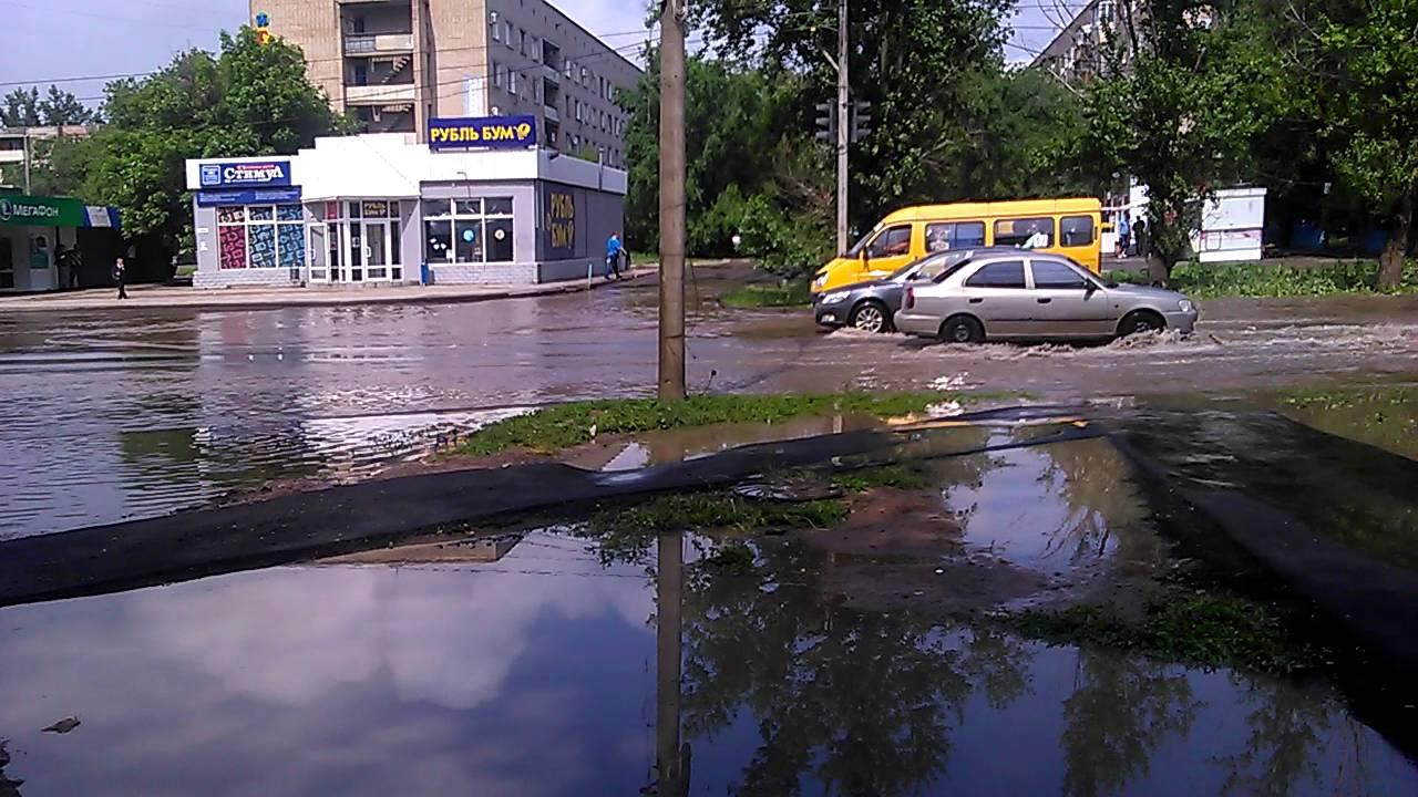 фото наводнение в волжском