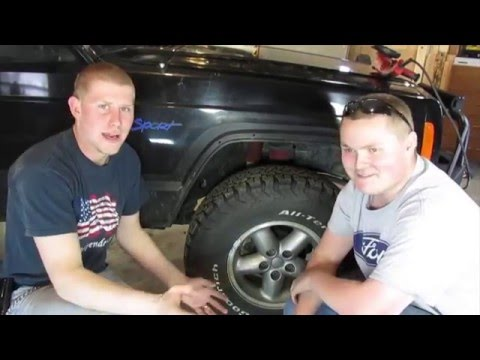 Jeep Fender Cut and Fold