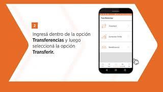 Tutorial App Banco Hipotecario: Transferencias