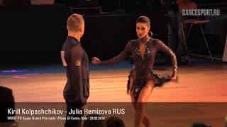 Baixar Kirill Kolpashchikov - Julia Remizova RUS, Cha-Cha-Cha, WDSF PD Super Grand Prix Latin 2019