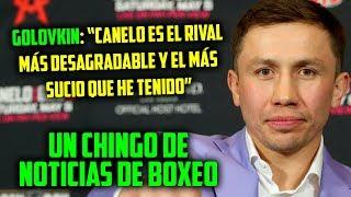 UN CHINGO DE NOTICIAS DE BOXEO, INCLUYENDO TODA LA INFORMACIÓN DE S...