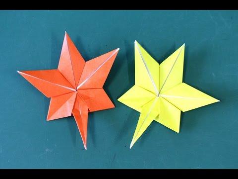 Origami Maple 折り紙「もみじ」折り方